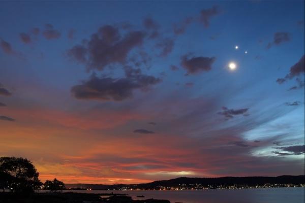 Venere Luna Giove AnteAr